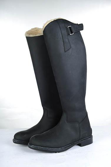 Billede af HKM Flex Country vinterstøvler børn sort