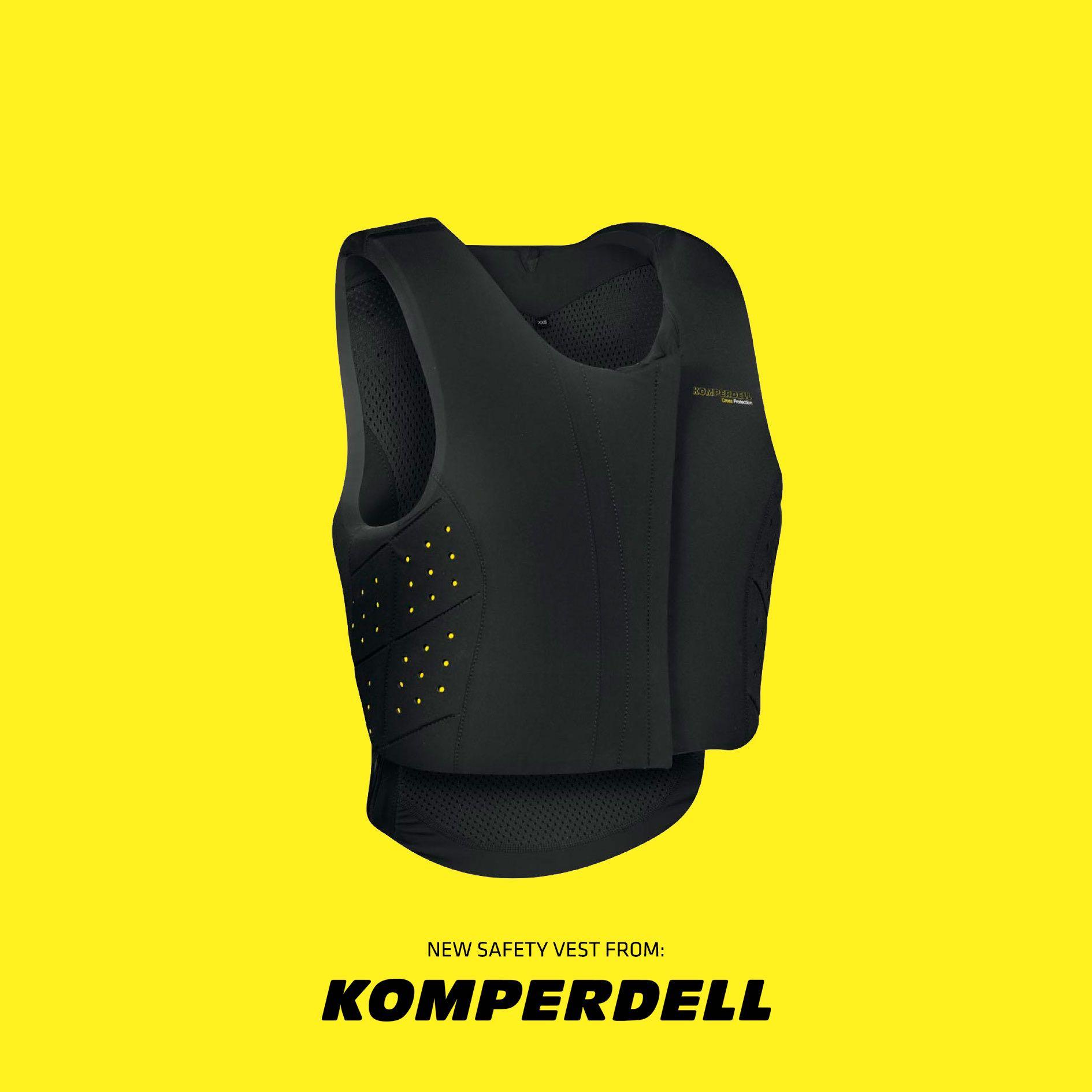 Image of   Komperdell sikkerheds vest Level 3 Sort