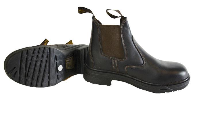 Mountain Horse Protective sikkerhedsstøvler brun