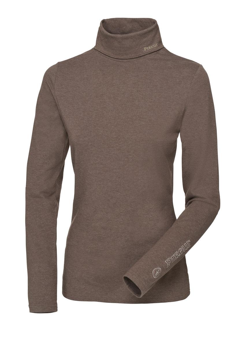 Pikeur trøje rullekrave Sina Brun
