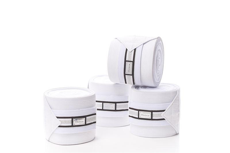 Billede af RBH bandager fleece elastic hvid og sort