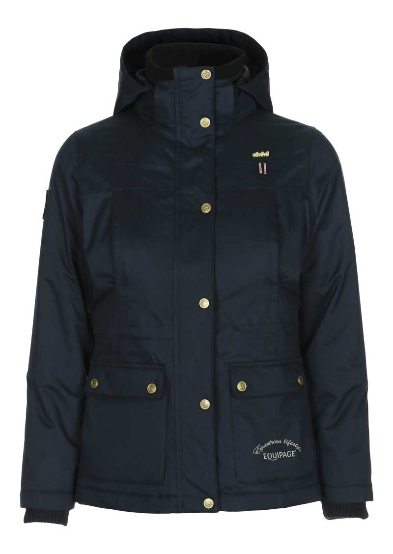 Equipage jakke Regina navy voksen