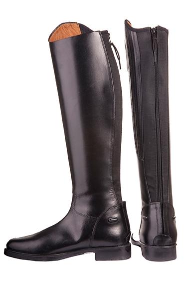 Billede af HKM læderstøvler voksne Rimini sort