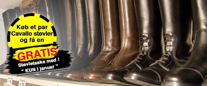 Cavallo støvler plus gratis støvletaske