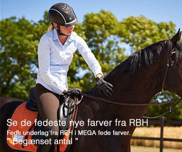 nye fede farver fra fra Rider by horse
