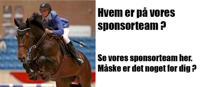 Hvem er på Gymnastik og Ridesports sponsorteam